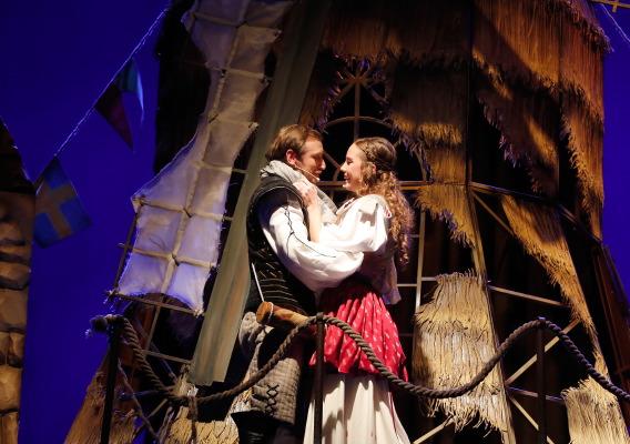 Два веронца в Калужском областном драматическом театре