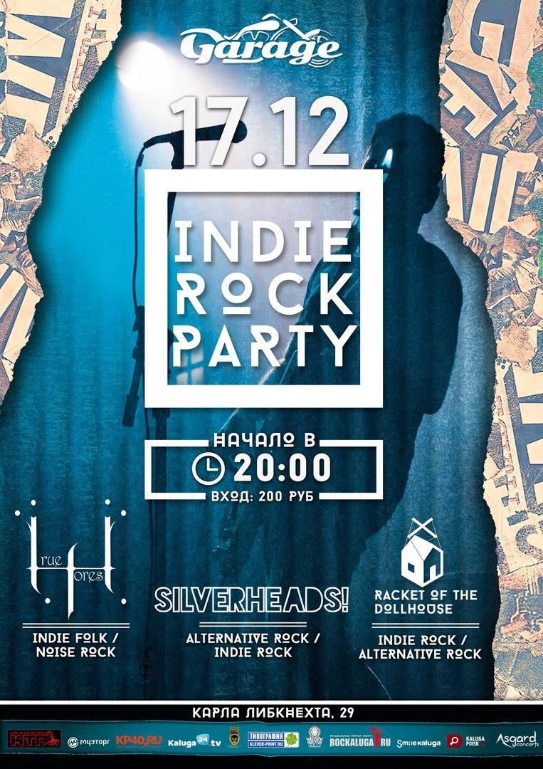 INDIE ROCK PARTY в баре Гараж