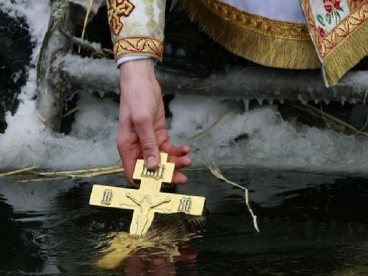 Стали известны места для купания в Крещение
