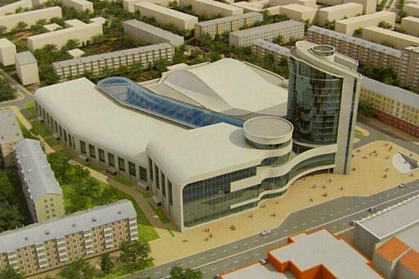 На строительство калужского Дворца спорта выделили миллиард рублей