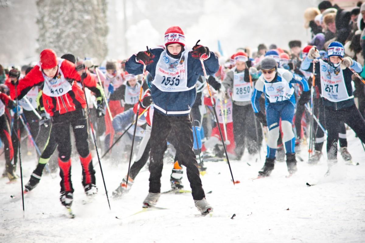 Жители Калуги примут участие в «Лыжне России»