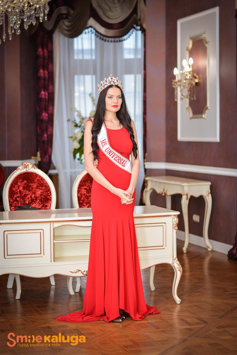 Миссис Вселенная приехала поддержать участниц калужского конкурса красоты