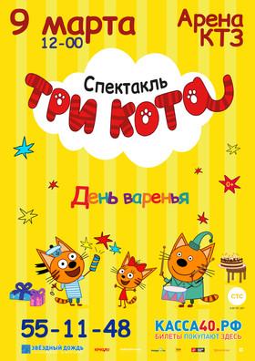 ТРИ КОТА. День варенья на Арене КТЗ