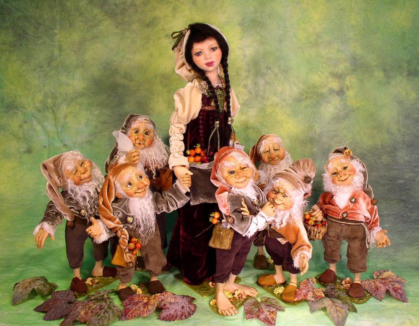 Калужан приглашают на кукольную выставку