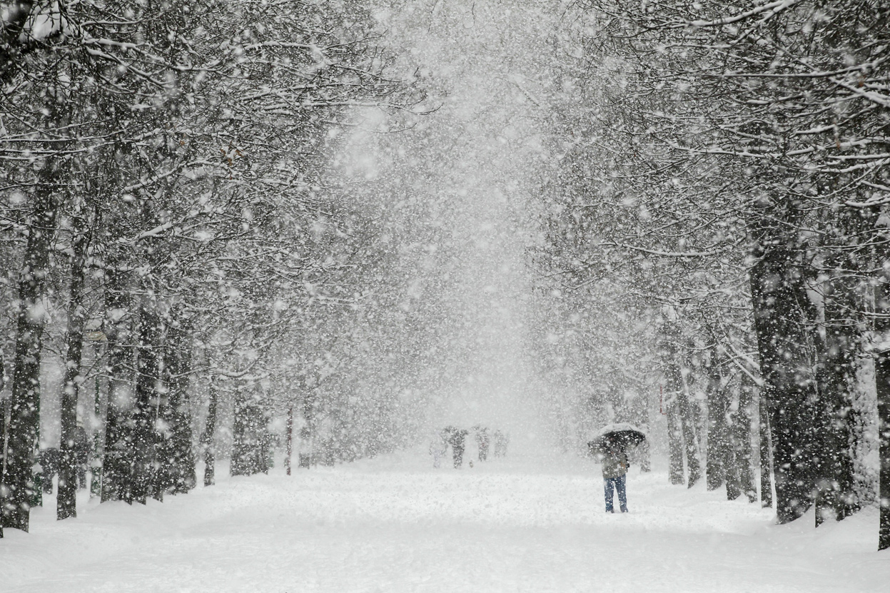 Снегопад в Калуге стал одним из самых сильных в истории