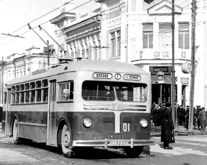В этот день был запущен первый калужский троллейбус