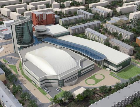 Дворец спорта будет строить красноярская компания