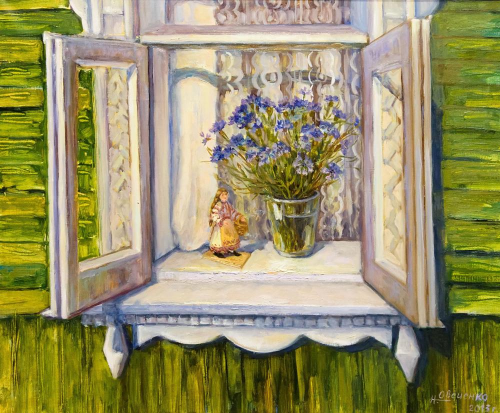Выставка Наталии Овсиенко открылась в Калужской области