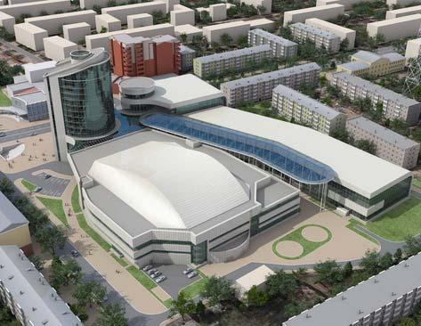 На строительство калужского Дворца спорта отвели почти 3 года