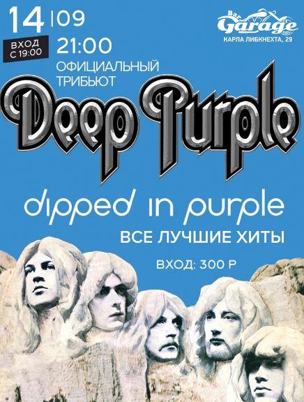 Tribute Deep Purple в баре Гараж