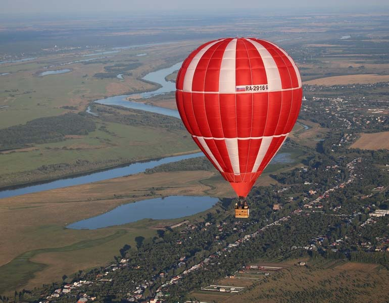 Калужская область участвует в фестивале воздухоплавателей в Пятигорске