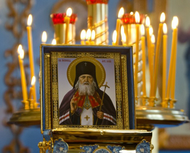 Мощи святителя Луки доставят в калужский храм