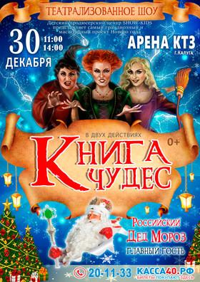 Новогоднее семейное шоу «Книга чудес». Арена КТЗ