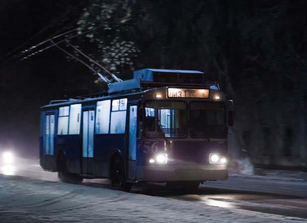 В ночь на Рождество время работы троллейбусов будет продлено