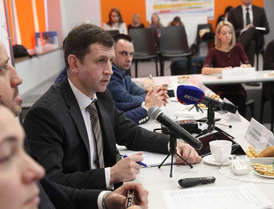 Городской Голова встретился с калужскими журналистами