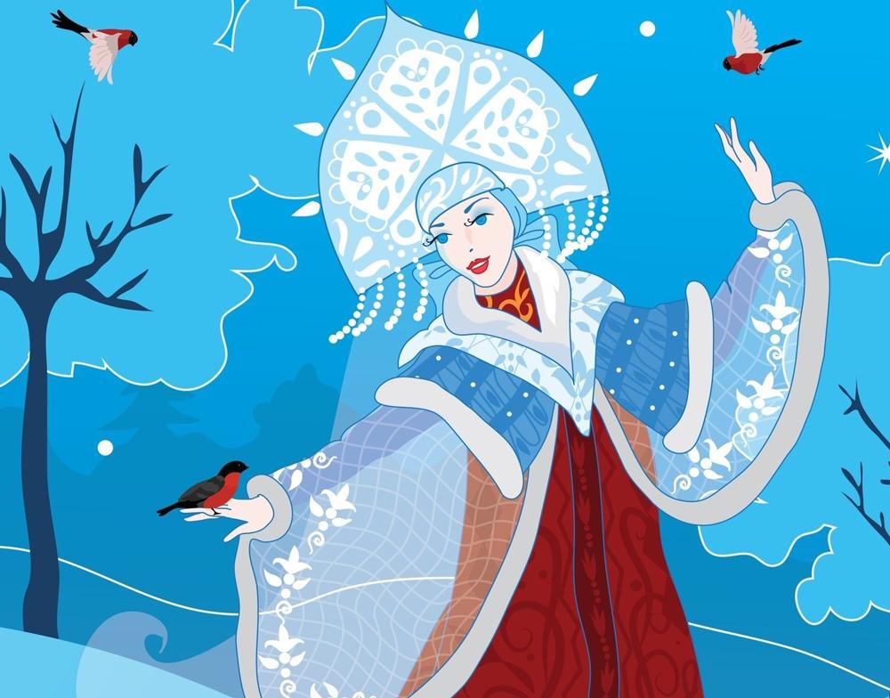 В Калуге выбрали лучшую снегурочку