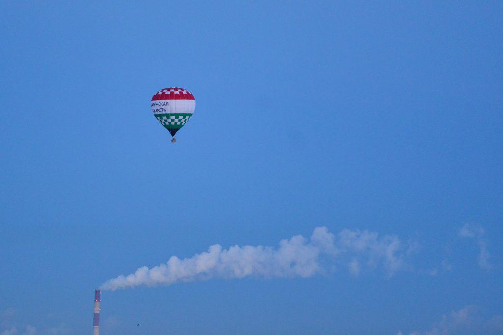 Калужские воздухоплаватели совершили 11-ти часовой полет