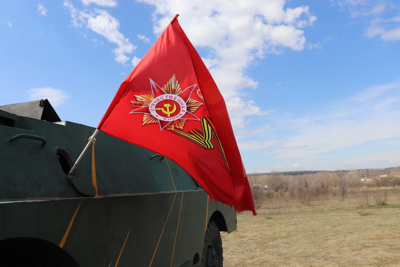 В Калужском регионе завершился автопробег по местам боевой славы