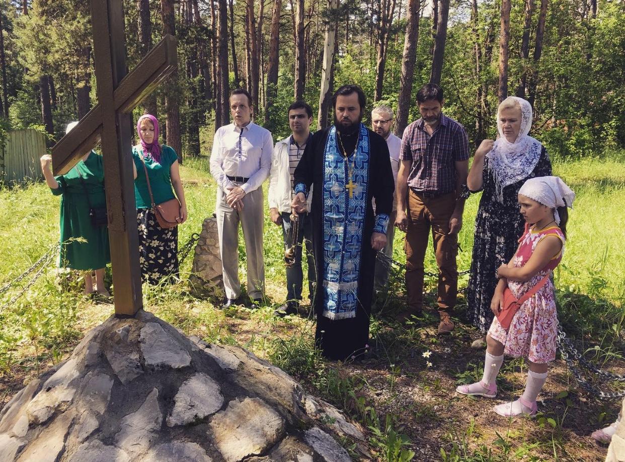 В Калуге почтили память Великого князя и Великой Княгини