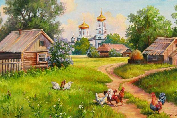 В селе Спас отметили День малой деревни