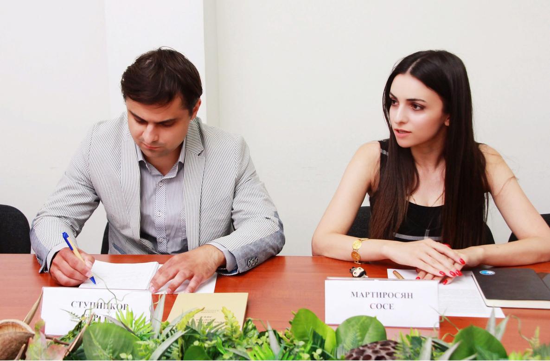 Сотрудничество между молодежными организациями Армении и Калужским региональным отделением РАПН обсудили в Ереване