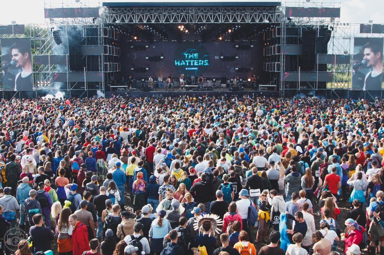 Фестиваль «Дикая мята» собрал десятки тысяч гостей