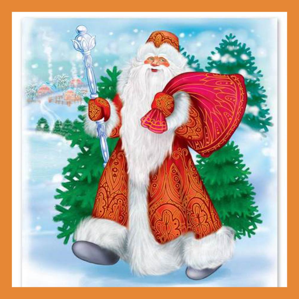 Калужский Дед Мороз принимает гостей