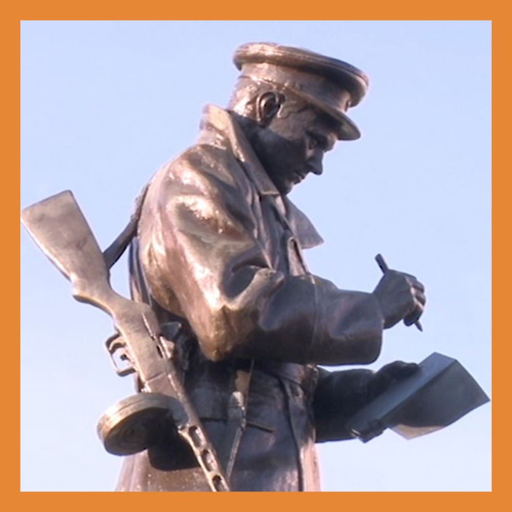 В Калуге установили мемориал Михаилу Петровичу Краснопивцеву