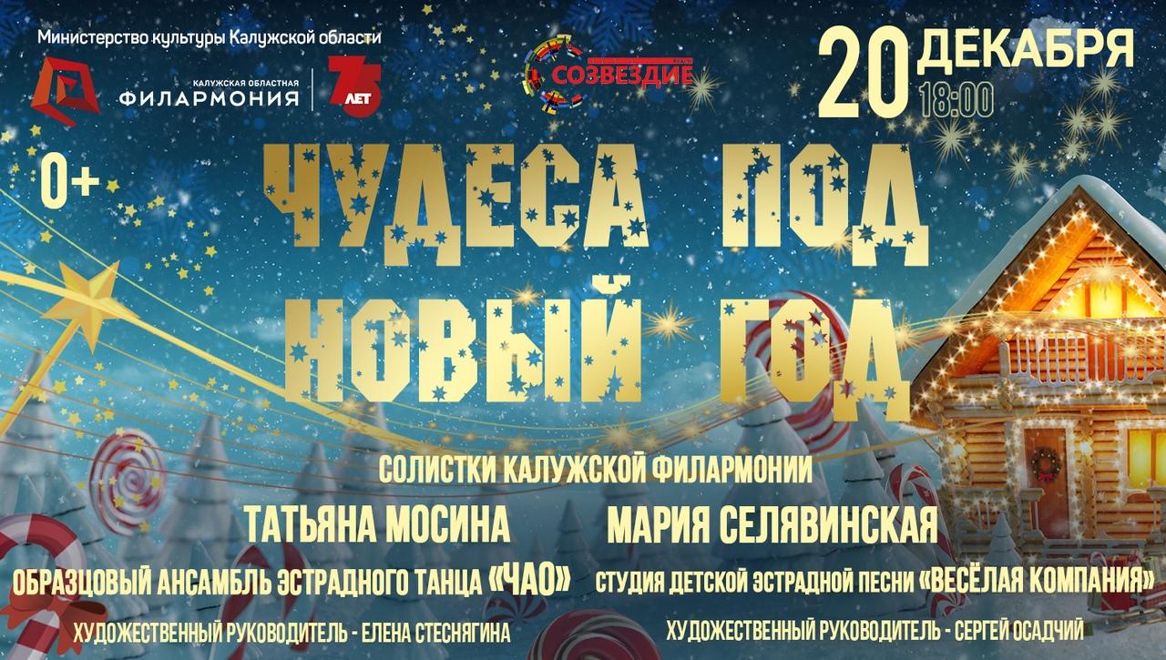 «Чудеса под Новый год». Филармония