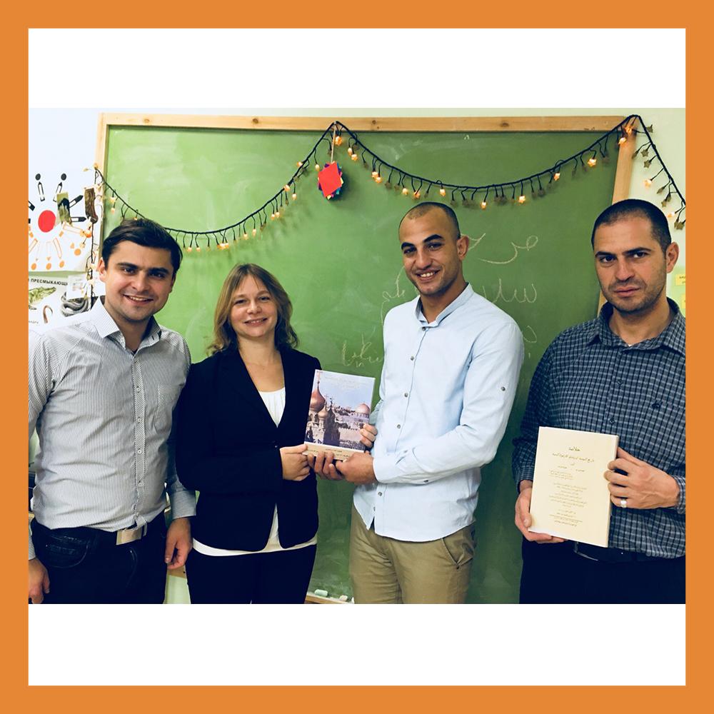 Калугу с ответным визитом посетили палестинцы