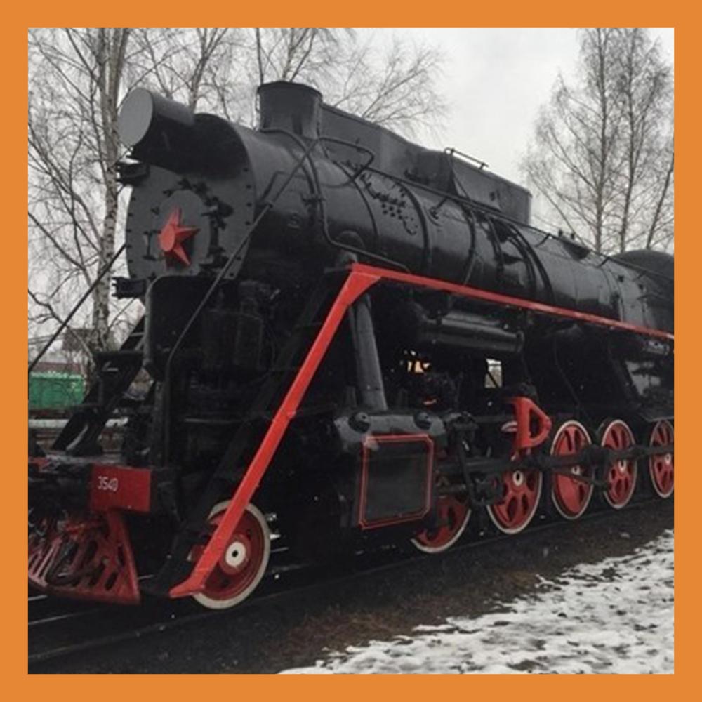 В сквере 50-летия ВЛКСМ установят памятник паровозу