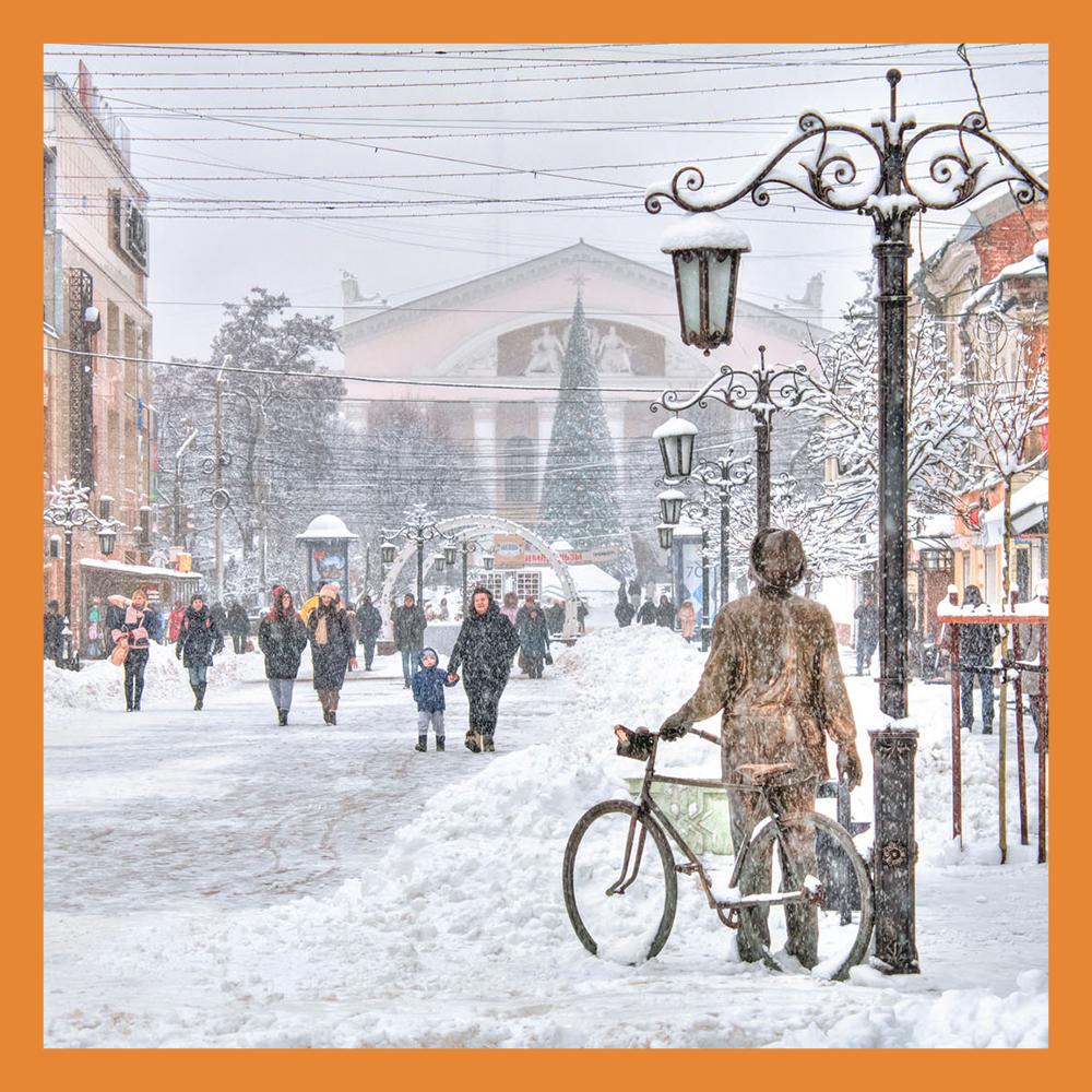 Продвижение проекта «Калуга – Новогодняя столица России 2021»