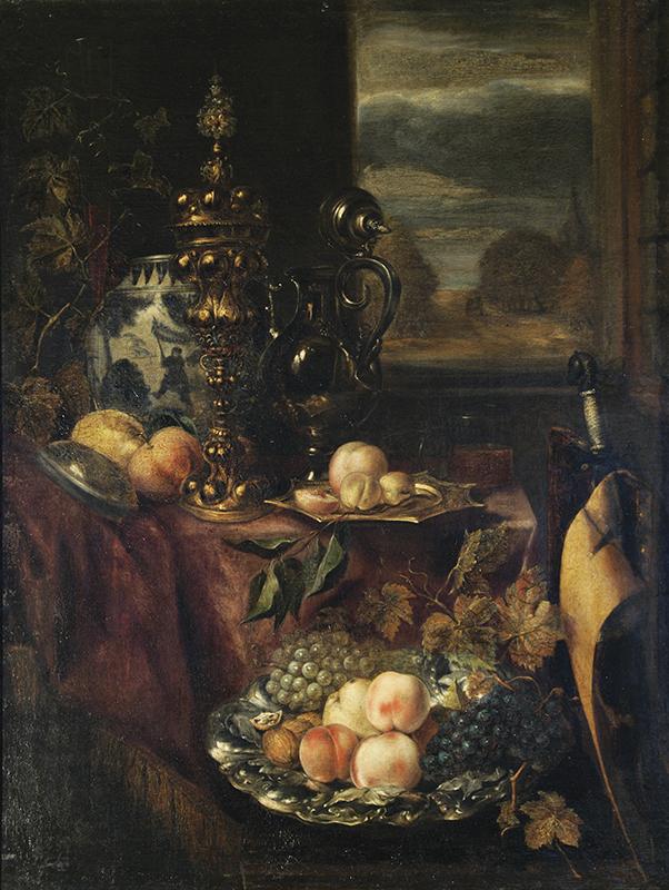 Выставка одной картины Абрахама ван Бейерена «Фрукты» в КМИИ