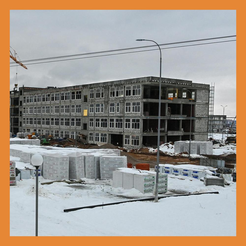 В Калуге продолжается строительство кампуса Калужского филиала МГТУ им. Н.Э. Баумана