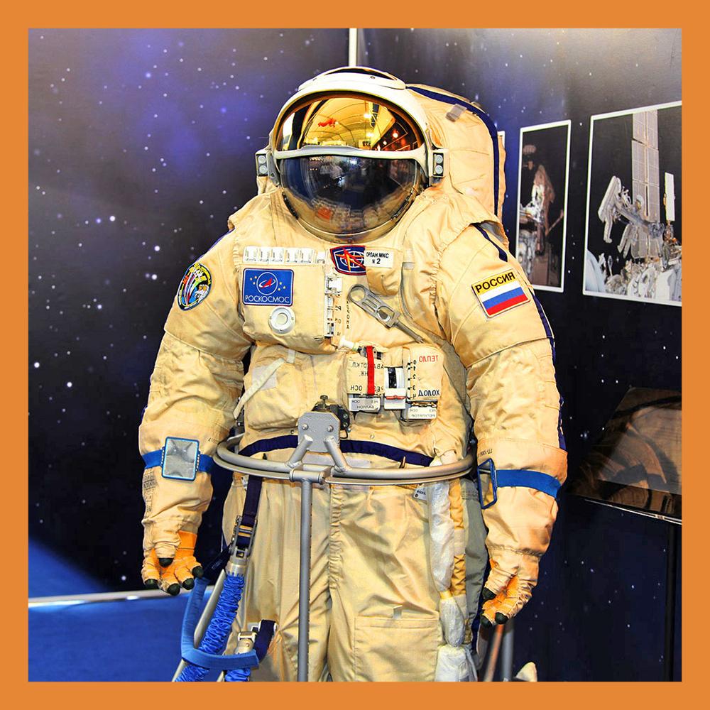 Калужский студент сможет надеть скафандр из космоса