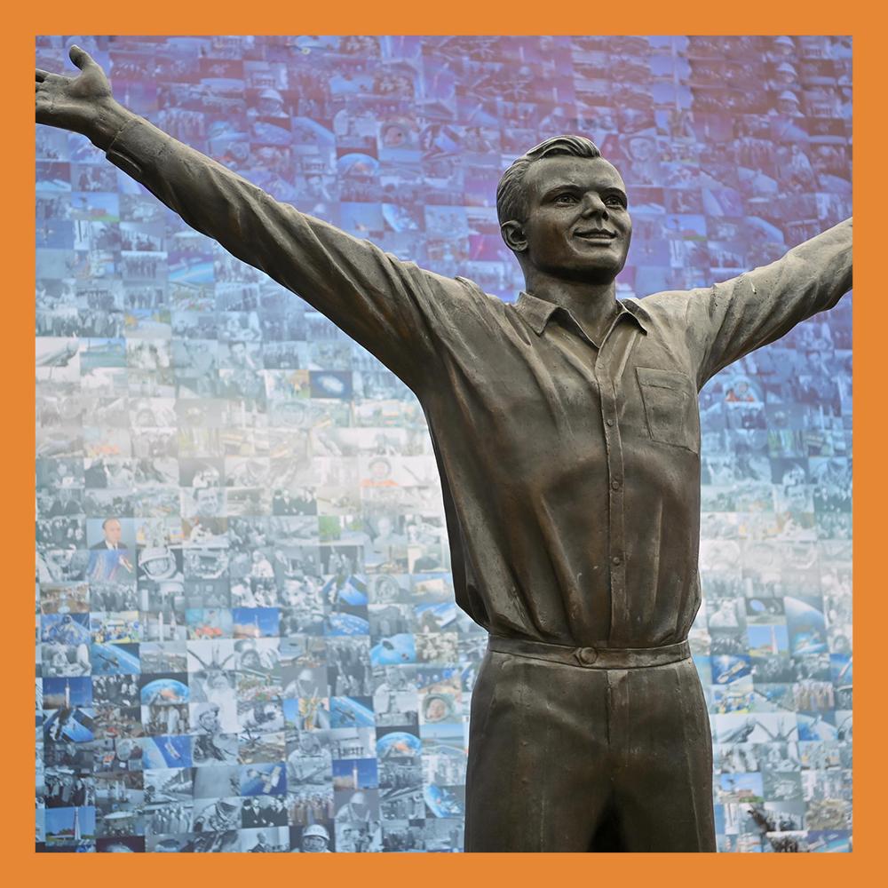 В Калуге прошли торжественные мероприятия, посвященные 60-летию полета в космос Ю.А. Гагарина