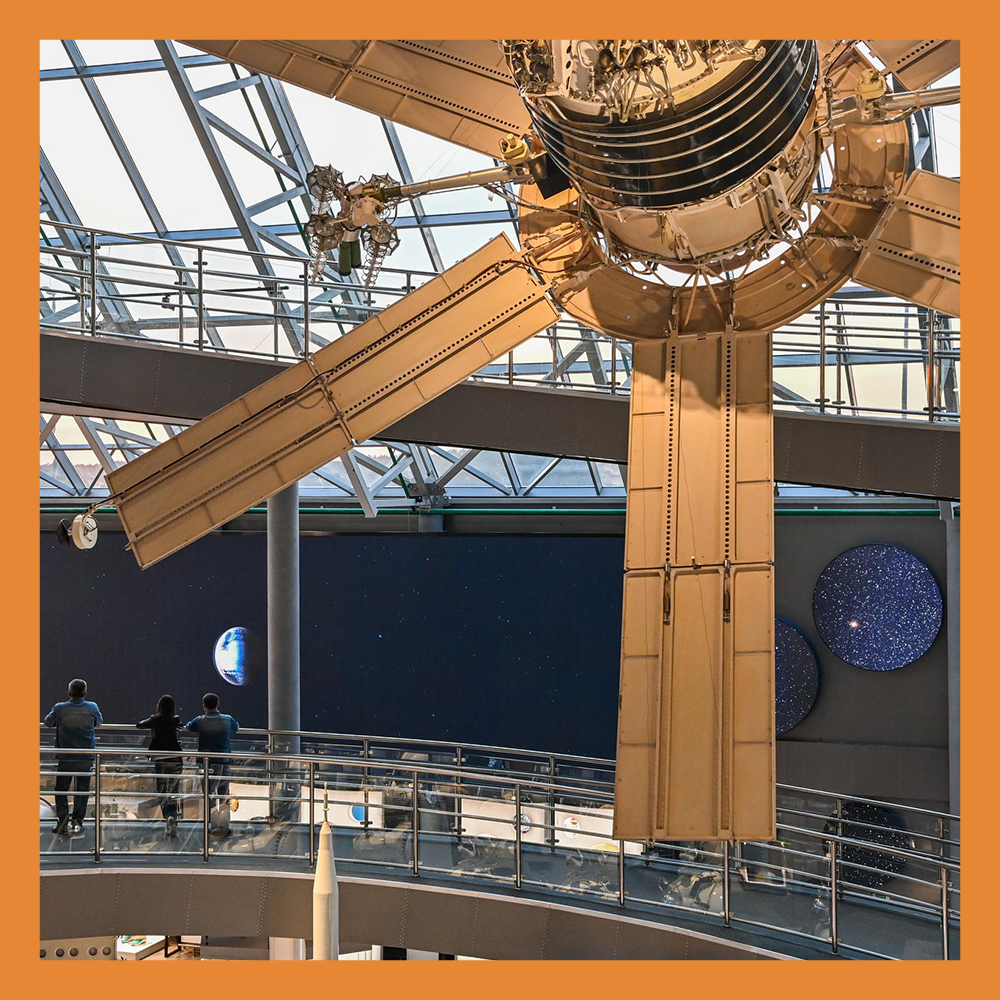 Открылась вторая очередь Музея истории космонавтики