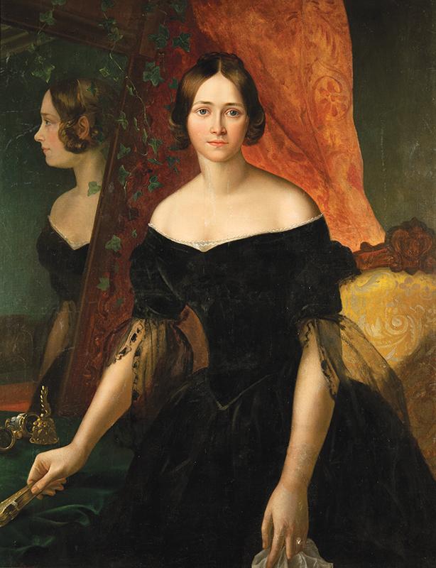 Выставка одной картины Аполлона Мокрицкого «Женский портрет». КМИИ