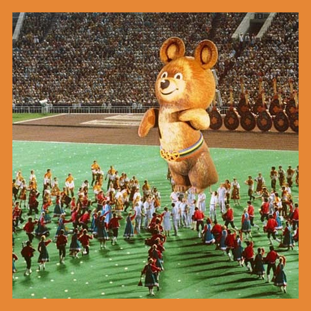 19 июля 1980 года в СССР открылись XXII летние Олимпийские игры