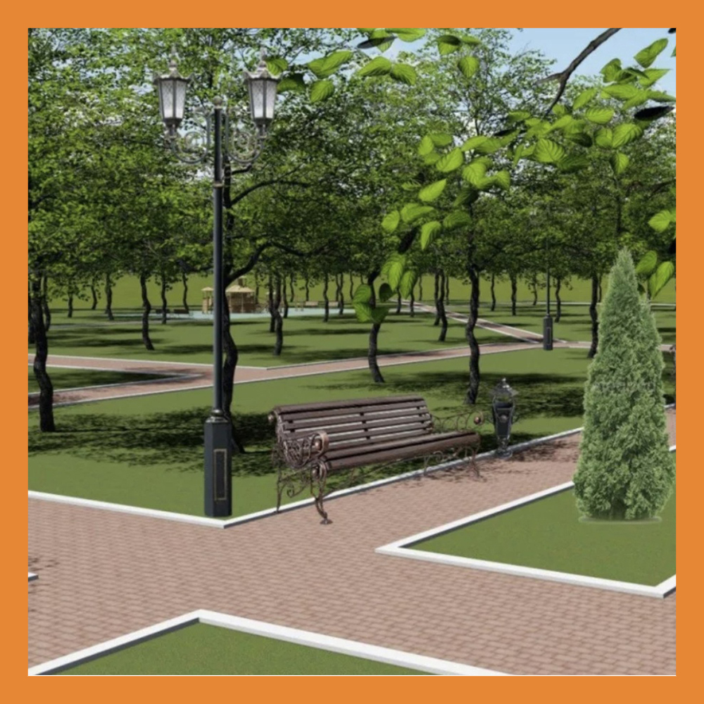 Пять новых общественных пространств Калуга получит до конца августа