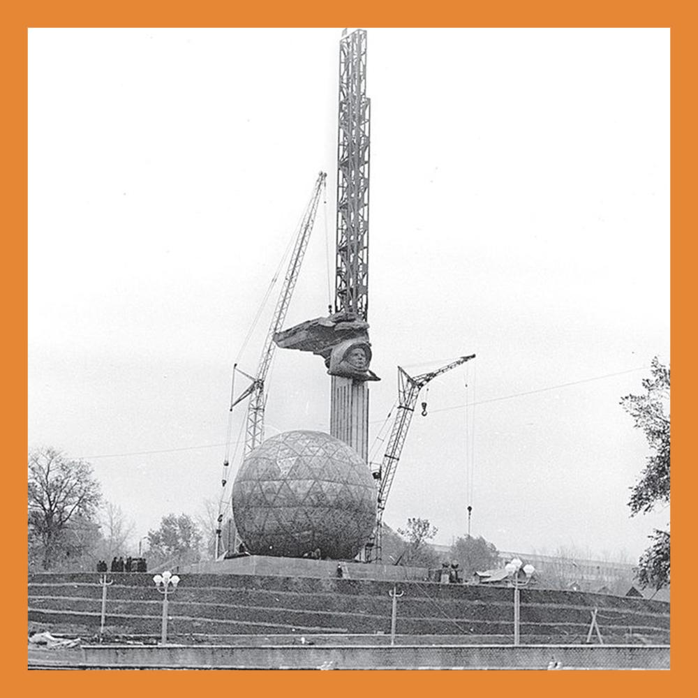 Продолжаются восстановительные работы  комплекса 600-летию Калуги