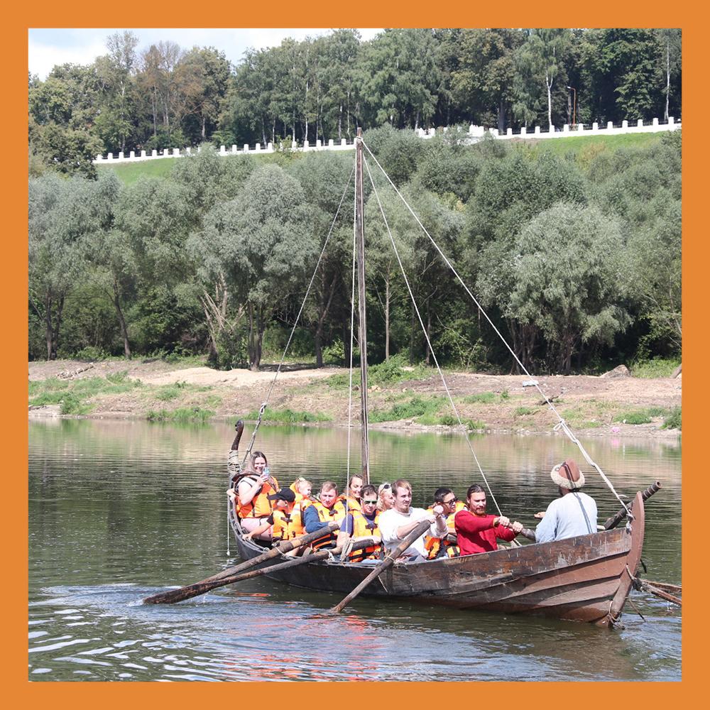 Фестиваль исторической реконструкции состоялся в Калуге