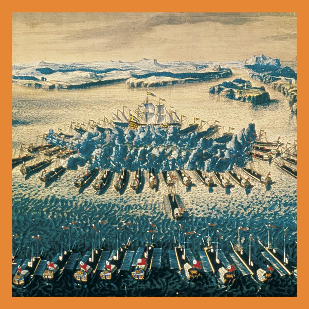 Сегодня День воинской славы России: День победы в Гангутском сражении