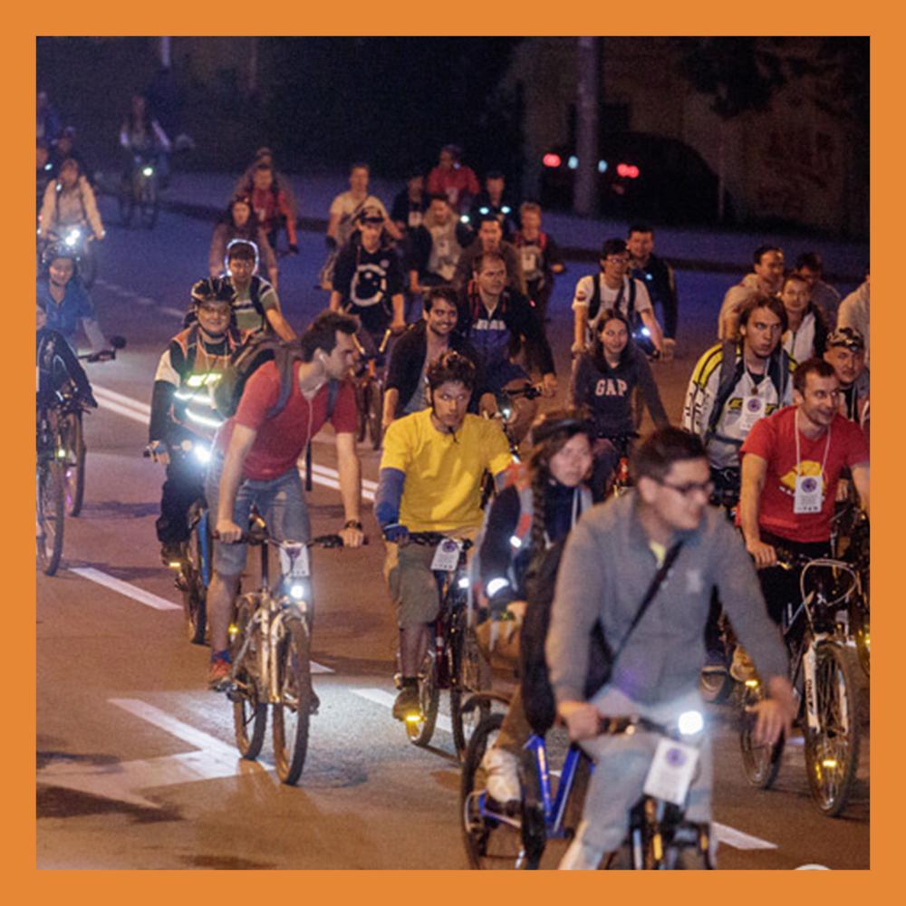 В преддверии Дня города состоится традиционный ночной велопробег