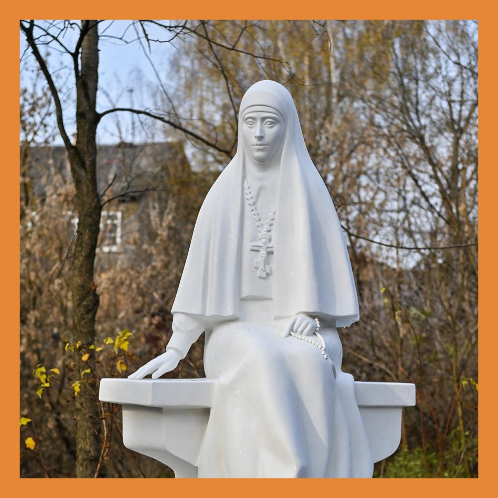 Памятник великой княгине Елизавете Федоровне открыли в Калуге