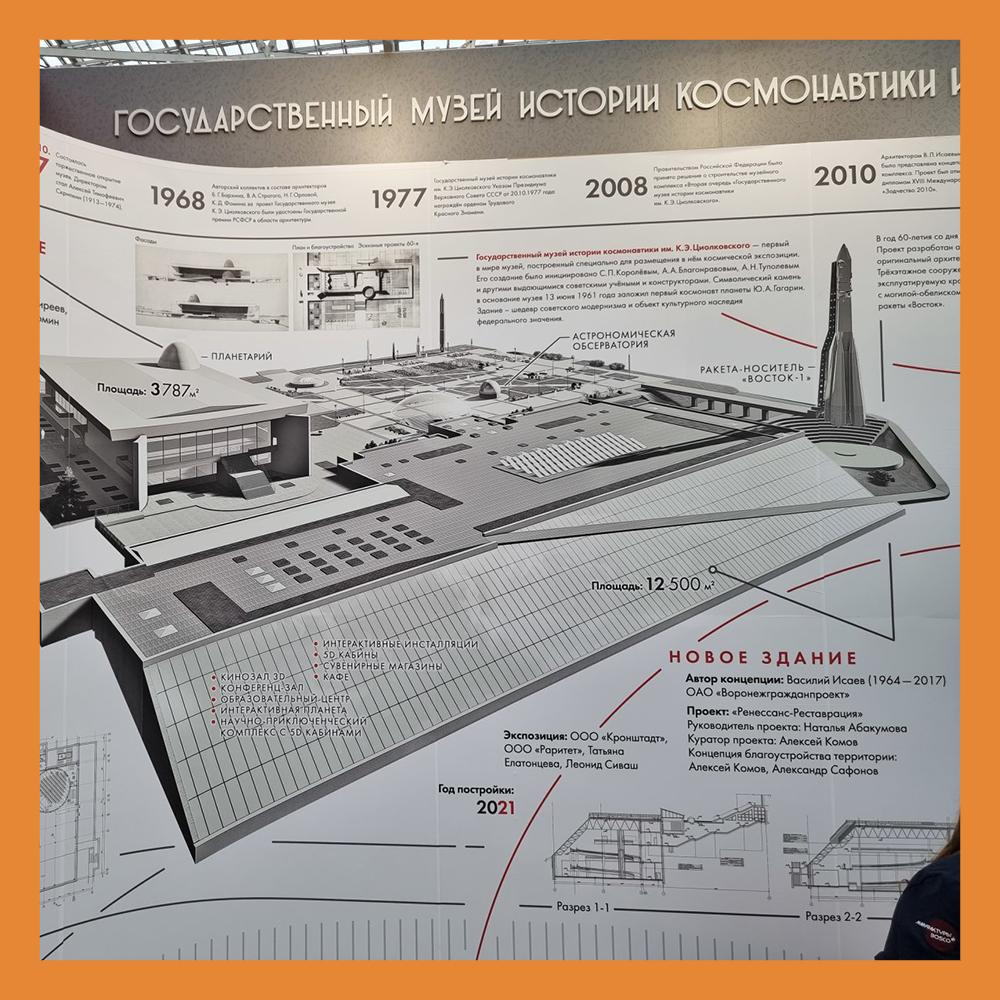 Музей истории космонавтики стал лауреатом фестиваля «Зодчество»